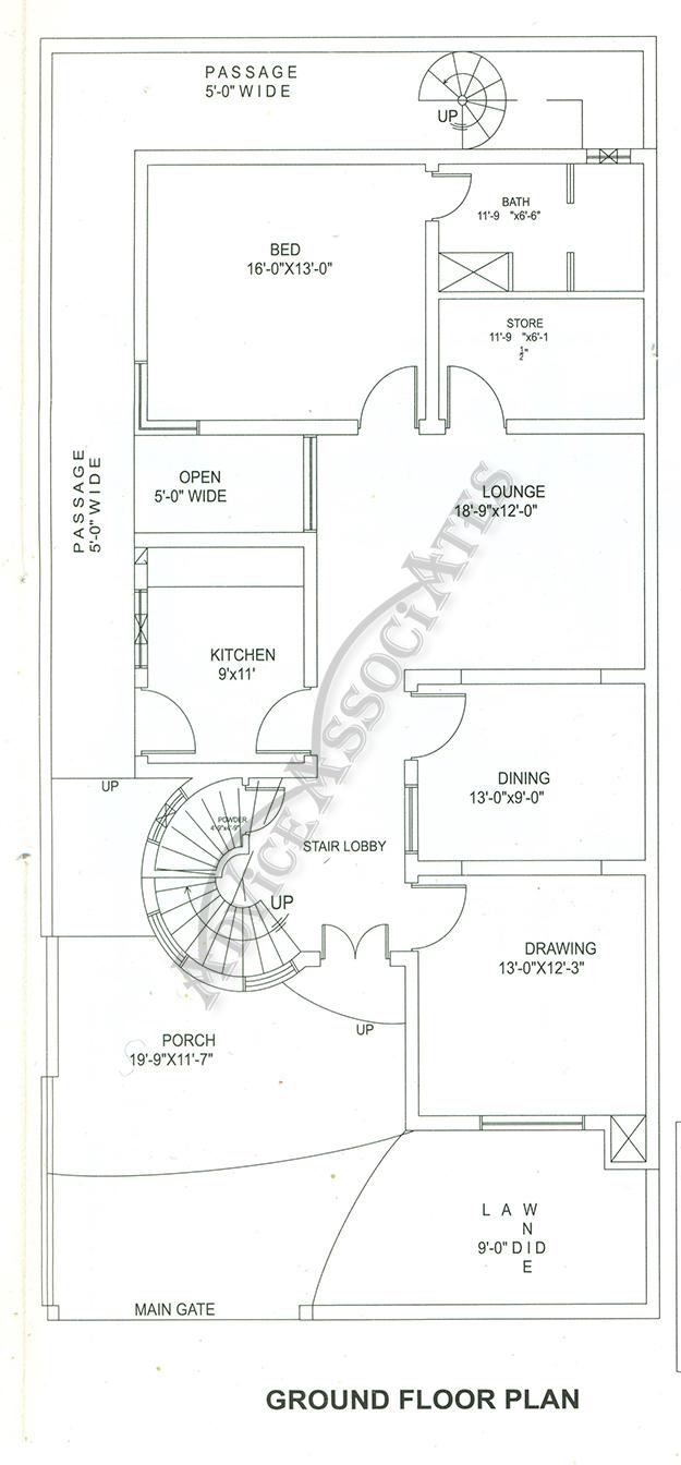 Bahria Enclave 10 Marla 4 Bed House Design Bds 234