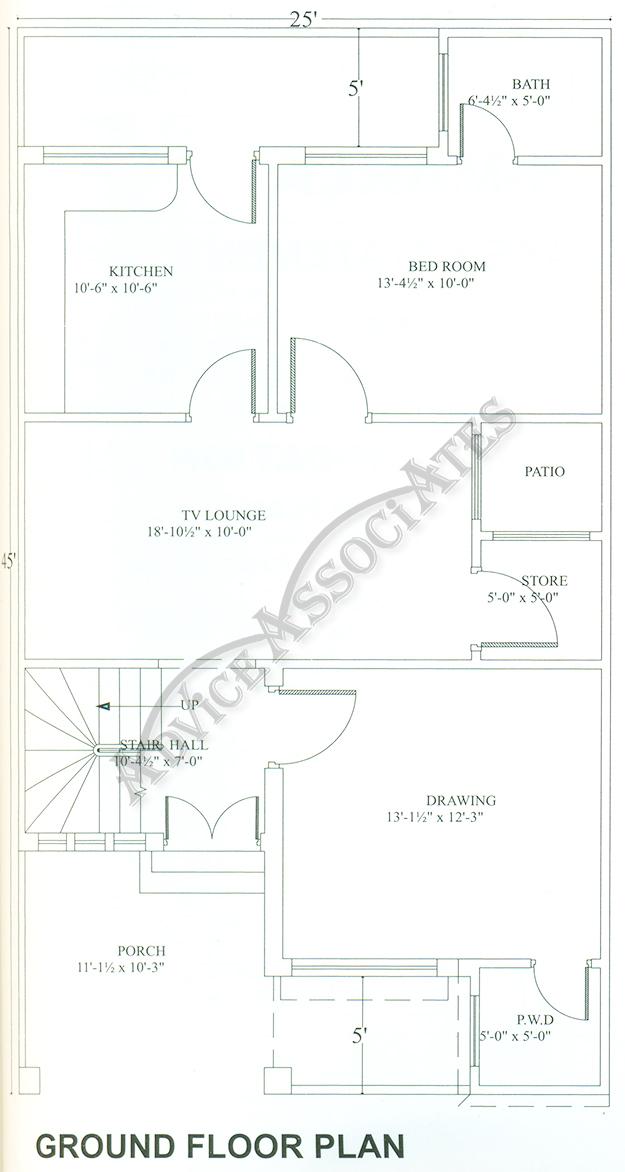 Bahria Enclave 5 Marla 3 Bed House Design Bds 354